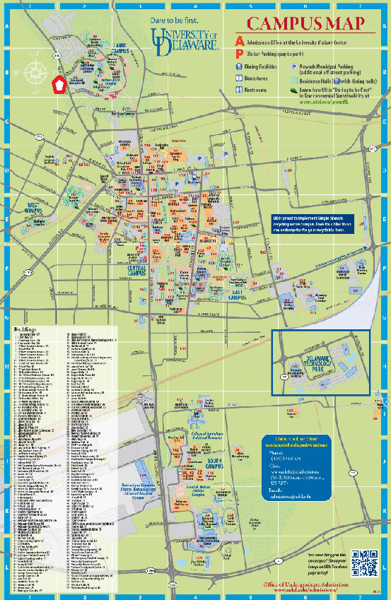 map of university of delaware campus In An North Easternly Direction Year End 2013 Activities map of university of delaware campus